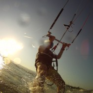 Kite surfing Kineret