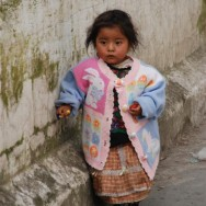 Lonely Girl in Guatemala