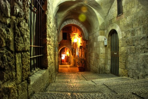 Jerusalem Night Walk