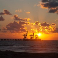 Caesarea's Sunset