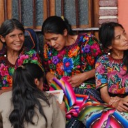 The ladies of Antigua, Guatemala
