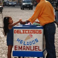 Ice Cream in Antigua, Guatemala