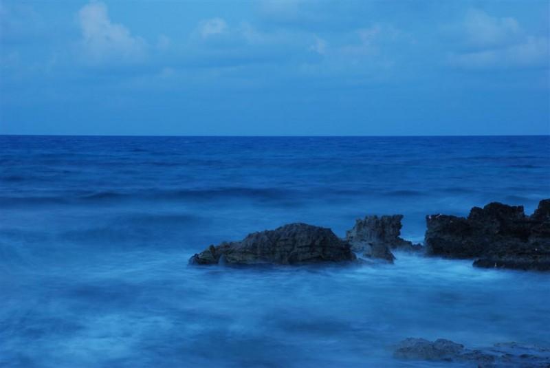 Evening Ocean at Isla Mujeres